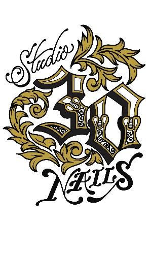 Studio 30 Nails Logo